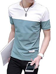 Majica s rukavima Muškarci - Kinezerije Color block Osnovni