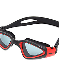 cheap -Swimming Goggles Anti-Fog Anti-Wear Adjustable Size Anti-UV Scratch-resistant Shatter-proof Anti-slip Strap Waterproof Silica Gel PC