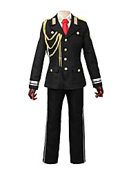 cheap -Inspired by ACCA: 13-Territory Inspection Dept. Other Anime Cosplay Costumes Cosplay Suits Other Long Sleeves Coat Shirt Pants Tie For