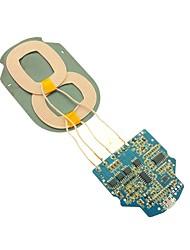 Недорогие -Беспроводное зарядное устройство Зарядное устройство USB Универсальный Беспроводное зарядное устройство / Быстрая зарядка 1 A DC 5V для iPhone X / iPhone 8 Pluss / iPhone 8