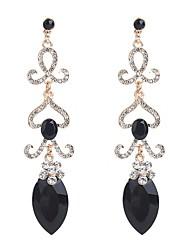 cheap -Women's Drop Earrings Multi-stone Bohemian Elegant Crystal Alloy Drop Jewelry Gift Evening Party Costume Jewelry