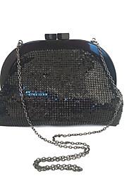 baratos -Mulheres Bolsas Acrílico / Metal Bolsa de Mão Detalhes em Cristal para Festa / Eventos Preto / Cinzento