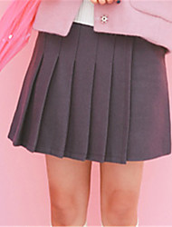 cheap -Men's Simple Bodycon Skirts - Solid Colored