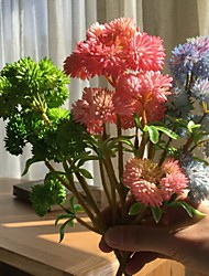 cheap -Artificial Flowers 1 Branch Wedding Flowers / Pastoral Style Succulent plants Tabletop Flower