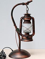 abordables -Rustique Décorative Lampe de Table Pour Métal 220-240V