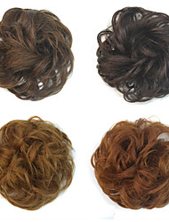 cheap -Medium Auburn Dark Auburn Light Blonde Auburn Strawberry Blonde/Medium Auburn Flowers Hair Bun Sexy Lady Hair Accessory Drawstring