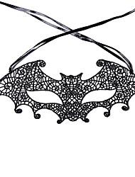 abordables -Masques d'Halloween Thème jardin Vacances Thème classique Thème de conte de fées Romance Fantastique Mode Famille Tissu tissé Artistique