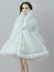 Kaputi Kaput Za Barbie lutka Obala Kaput Za Djevojka je Doll igračkama