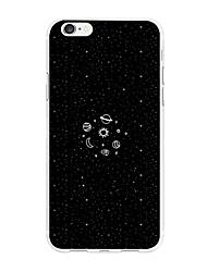 Недорогие -Кейс для Назначение Apple iPhone X iPhone 8 Plus С узором Кейс на заднюю панель Живопись Мультипликация Мягкий ТПУ для iPhone X iPhone 8