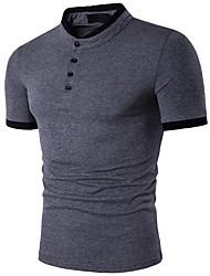 Majica s rukavima Muškarci - Posao Jednobojni Osnovni