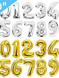 Недорогие -Особые случаи / День рождения Алюминиевая фольга Свадебные украшения Праздник / День рождения Все сезоны
