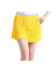 cheap -Belly Dance Hip Scarves Women's Training / Performance Chiffon Tassel Fashion Hip Scarf