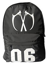 cheap -Men's Bags Oxford Cloth Backpack Zipper Black