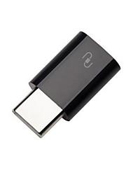 Недорогие -Smart / Коннектор / Адаптер Micro USB / USB / ТИП C 1pack ABS Включение / выключение