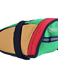 Недорогие -ROSWHEEL 0.5 L Сумка на бока багажника велосипеда Пригодно для носки Простота установки Велосумка/бардачок полиэстер для печати Велосумка/бардачок Велосумка Велосипедный спорт / Велоспорт