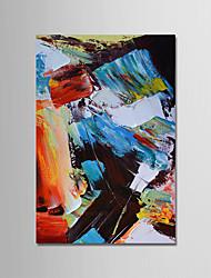 Pintados à mão Abstrato Vertical, Modern Tela de pintura Pintura a Óleo Decoração para casa 1 Painel
