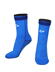 cheap -Water Socks 3mm Neoprene for Adults - High Strength, Softness Swimming / Diving / Surfing / Snorkeling