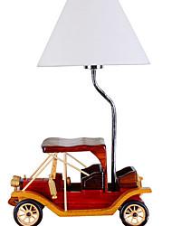 baratos -Moderno/Contemporâneo Decorativa Luminária de Mesa Para Madeira/Bambu 220-240V Café