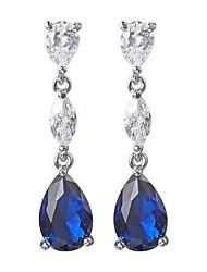 cheap -Women's Drop Earrings - Drop Bohemian, Korean Blue For Party / Gift
