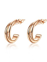 cheap -Women's Stud Earrings - Fashion Silver / Rose Gold For Wedding / Daily