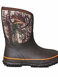 baratos -Para Meninas Para Meninos Sapatos Borracha Outono Botas de Chuva Botas para Casual Ao ar livre Café