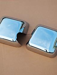 baratos -2pcs Carro Capas de Espelho Lateral Negócio Tipo de pasta For Espelho Retrovisor For Jeep Wrangler Todos os Anos