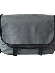 baratos -Unisexo Bolsas PVC Bolsa de Ombro Ziper Geométrica Cinzento Escuro