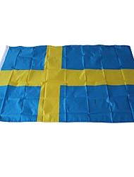 baratos -Decorações de férias Eventos esportivos Copa do Mundo Bandeira Nacional Suécia 1pç