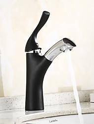 abordables -Robinet lavabo - Séparé Tactile / non tactile Noir Vasque Mitigeur un trou