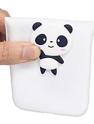 baratos -Capinha Para Huawei P10 Lite P10 Estampada Faça Você Mesmo Capa traseira Panda Macia TPU para P10 Lite P10 P8 Lite (2017) Huawei