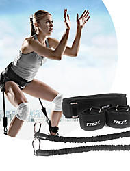 cheap -Exercise Resistance Bands With Metal Portable, Detachable, Strength Training Explosive Power Training, Vertical Bounce Trainer, Leg Strength Muscle For Yoga / Taekwondo / Boxing Leg
