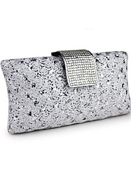 cheap -Women's Bags PVC / Metal Evening Bag Crystals Gold / Silver
