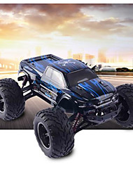 baratos -Carro com CR S911 Canal 4 2.4G Urbano Off Road Car Rock Climbing Car 1:12 Electrico Escovado 40km/h KM / H