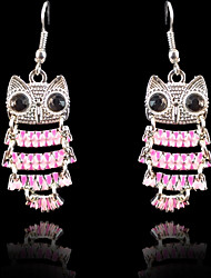 cheap -Women's Drop Earrings - Bird Sweet, Fashion Pink For Party / Evening / Date