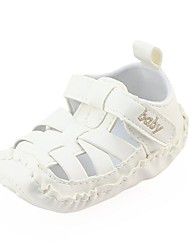 cheap -Boys' / Girls' Shoes Leatherette Spring Comfort / First Walkers / Crib Shoes Flats Magic Tape for Baby Beige / Coffee / Brown