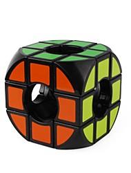 preiswerte -Zauberwürfel 1 Stück Shengshou D0927 Regenbogenwürfel 3*3*3 Glatte Geschwindigkeits-Würfel Magische Würfel Puzzle-Würfel glänzend Mode