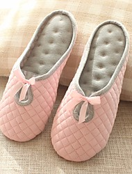 cheap -Women's Shoes Fabric Spring Fall Comfort Slippers & Flip-Flops Low Heel for Gray Pink