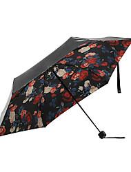 お買い得  -1pcs pc ファブリック 女性用 成人 サニーと雨 折りたたみ傘