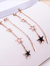cheap -Women's Hoop Earrings - Star European, Korean Gold For Wedding / Daily
