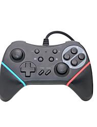 baratos -HHC-S018 Com Fio Controladores de jogos Para Nintendo Interruptor ,  Controladores de jogos ABS 1 pcs unidade