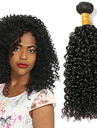 cheap -Brazilian Hair Curly Human Hair Weaves 3pcs Hot Sale Extention Human Hair Extensions All Christmas Gifts Christmas Wedding Party Special