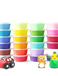 cheap -Plasticine Family Painting Parent-Child Interaction Hand-made New Design Resin All Kid's Adults Gift 36pcs