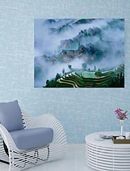 Недорогие -Наклейка на стену Напольные наклейки Дверные наклейки - Простые наклейки 3D наклейки Пейзаж Цветочные мотивы / ботанический Положение