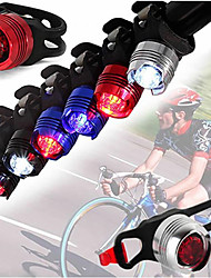 cheap -Bike Lights LED Cycling Portable Waterproof Lightweight Li-ion 350lm Lumens White Camping / Hiking / Caving Cycling / Bike