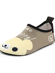 cheap -Boys' / Girls' Shoes Spandex Spring / Summer Comfort Loafers & Slip-Ons Animal Print for Brown