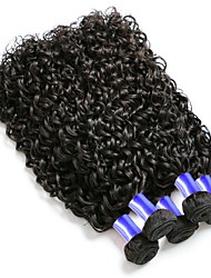 cheap -Malaysian Hair Kinky Curly Curly Human Hair Weaves 6-Pack Soft Coloring 100% Virgin Fashion Hot Sale Natural Color Hair Weaves Human Hair