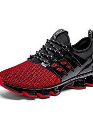 abordables -Hombre Novedad Zapatos Tul Verano Zapatillas de Atletismo Running Gris / Rojo / Verde