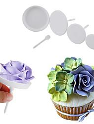 Недорогие -Инструменты для выпечки пластик Праздник / Творческая кухня Гаджет / День Святого Валентина Для приготовления пищи Посуда Десертные инструменты 4шт