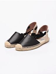 Mujer Zapatos Cuero de Napa Primavera verano Confort Tacones Heterotypic Heel Negro / Wine / Fiesta y Noche / Fiesta y Noche 4Jpja