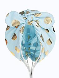Недорогие -Дети Универсальные Хлопок Головные уборы Желтый / Пурпурный / Светло-синий Один размер / Банданы